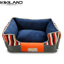 Unique indoor soft printing dog beds with mattress