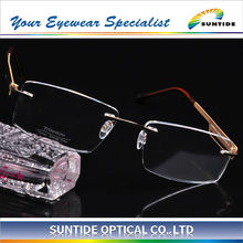 2013 Latest Rimless Titanium Fashion Eyewear (110513)