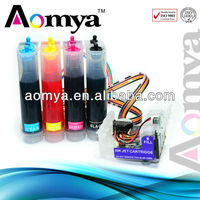 Aomya CISS, ARC Chip, Ink Cartridge for Epson T13 /Stylus TX121 refill ink cartridge