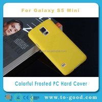 China Cheap Mobile Phone Case For Samsung Galaxy S5 Mini (Yellow)
