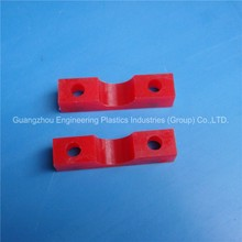 Factory wholesale custom made pu polyurethane machined part colored plastic strips