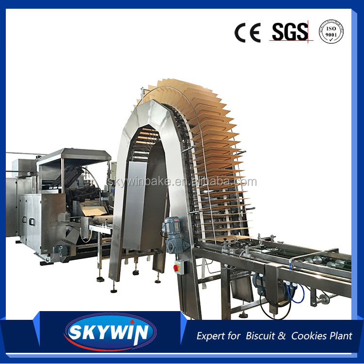 Skywin High Efficiency Wafer biscuit Making Machine