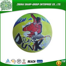 high quality Photo Printing original style leathery basketball