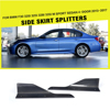 Carbon Fiber F30 M Sport Side Skirt Splitters for BMW 320i 325i 328i 335i Sedan 4-Door NEW 3 Series 13-17