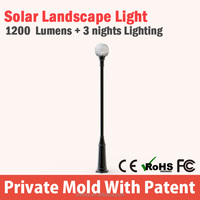 Top Quality led plastic solar garden lights with high quality