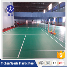 Indoor Futsal/Soccer/badminton court mat/Basketball/Table Tennis Court PVC Sport Floor