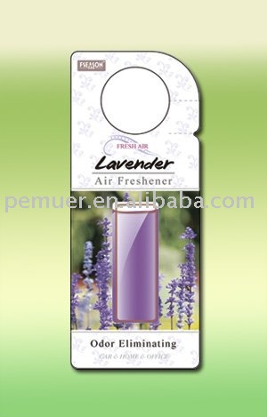 Eco friendly membranes air freshener with popular design for promotion