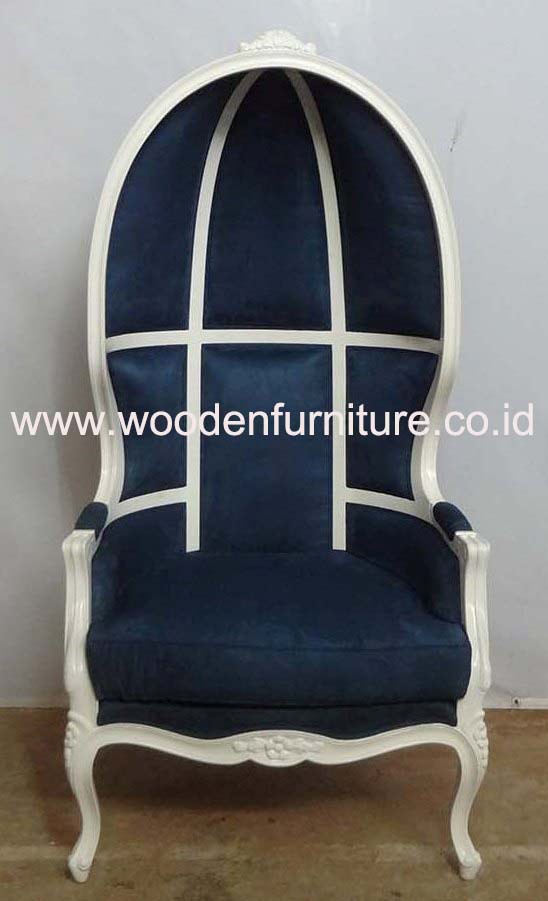 French Canopy Chair Antique Reproduction Chair Classic European Home Furniture