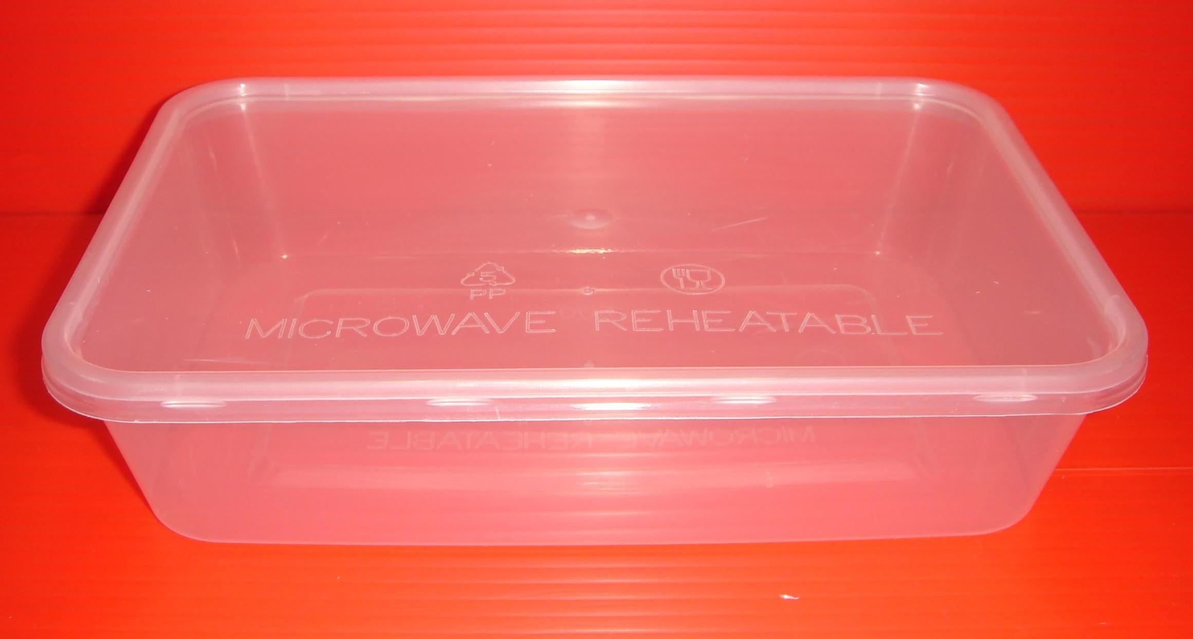 500ml Rectangular Container