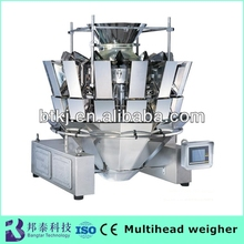 High speed high accuracy ten bucket automatic bagger Fresh food weighing packing machine