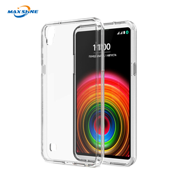 For LG x power clear soft tpu cell phone case