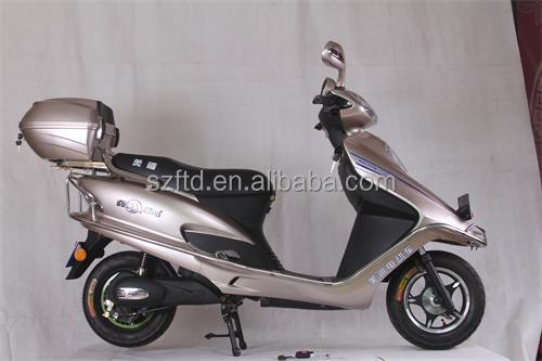 2015 new style strong adult electric motorcycle with optional 800w/1500w motor for sale/2 wheel electric scooter /cheap ebike