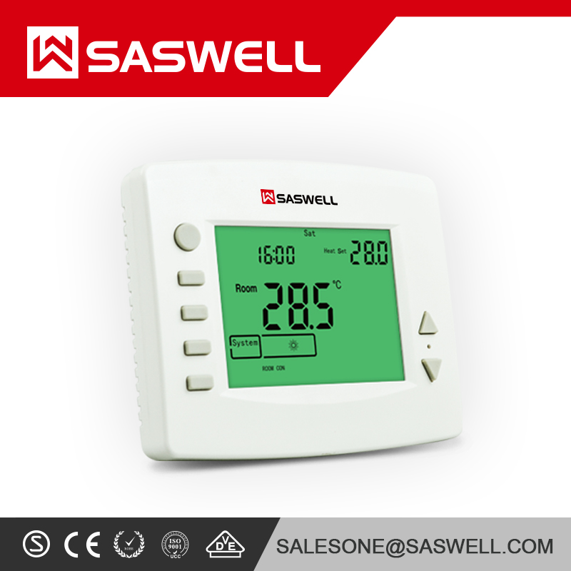 SASWELL TP5000Si RF Wireless Digital Programmable Room Thermostat (No Receiver)