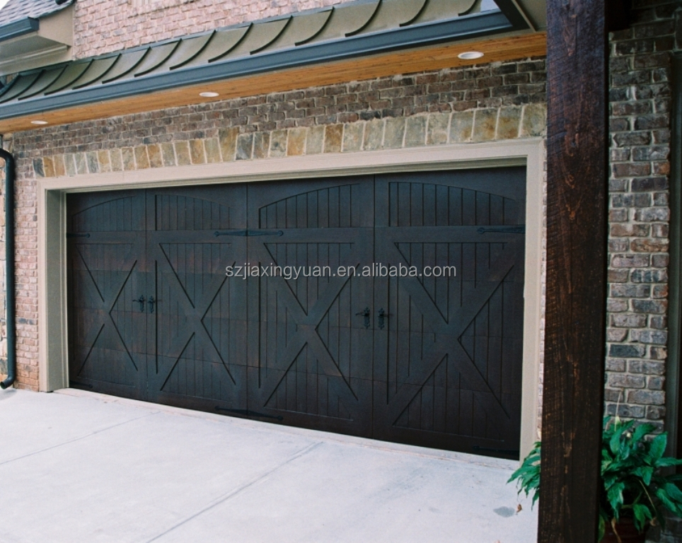 Residential wood garage doors buy wood garage doors teak for Residential main door design