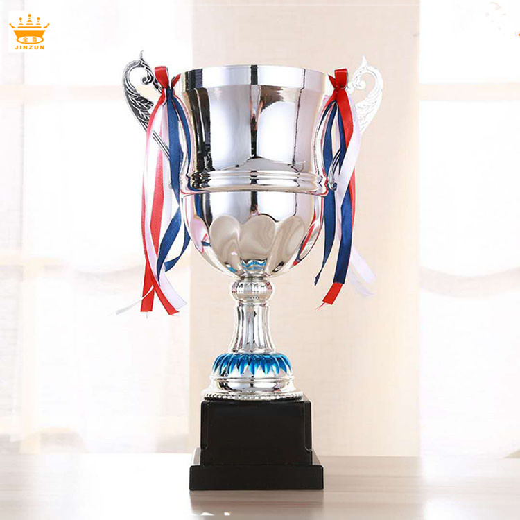 Prediction 2018 pop custom design big metal football trophy cup