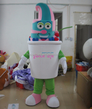 custom made high quality adult yogurt costume frozen yogurt mascot costume
