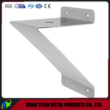 Chrome Plated Steel Z Shaped Beam Mounting Light Support Bracket