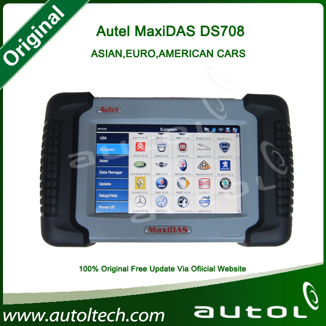 [Autel Distributor]2015 Original autel ds708 diagnostic scanner , generator professional diagnostic tools