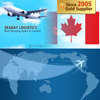 Low cheap Air Freight Cost shipping to Canada from China