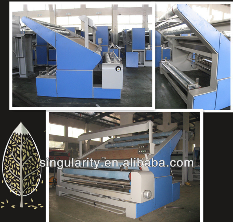 OW-1 Open-width Knitted Fabric Tensionless Inspection Machine