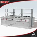 Professional Hotel Commercial best freestanding gas range/small cooking range