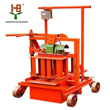 Import china products QMY2-45 widely home use mobile block making machine sale