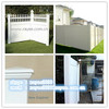 plastic garden fence panels for the house / PVC valla de jardin