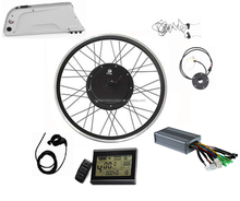 Front / rear 36V 48v 500w normal diy DC motor conversion electric bike kit, 500W geared hub motor kit