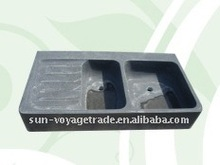 traditional square waterplace/square stone basin/stone waterplace