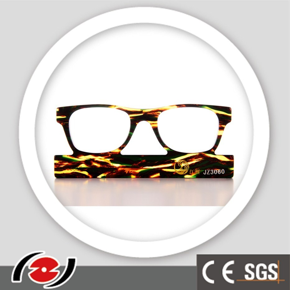JZ3060 hot sell long service life impact strength spectacle frame acetate plate