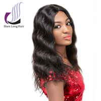 Body Wave Style and 6A 7A Unprocessed Brazilian Hair Weave Brazilian Human Hair Wig
