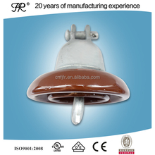 ANSI 52-1 high voltage 11kv disc suspension porcelain insulator