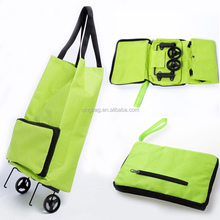 Hot sale shopping trolley bag with 2 wheels,chairs available