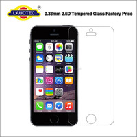 2.5D 9H 0.33MM Original Protective Tempered Glass Film for iphone 5/5s/Se , Screen Protector for iPhone 5/5s/Se