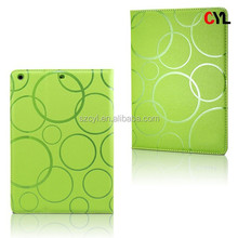 Leather case for ipad/ Silicon&PU case for ipad/ Explosion-proof leather case for ipad