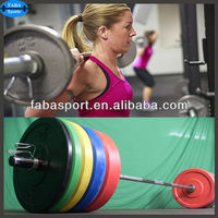Barbell Rubber Weight Plate