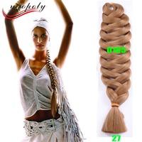 82inch 165g synthetic X style pression braiding hair extension ultra braid jumbo braiding hair