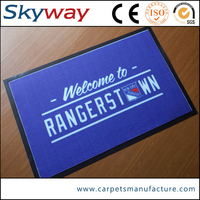 Wholesale custom printed polyester door mat