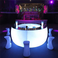 Outdoor Furniture/Bar For Sale/Commercial Color Changing Led Bar Counter