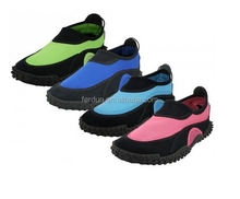 Wholesale Blue Aqua shoes, TPR water shoes for Women