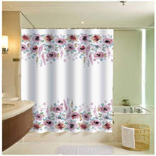 vintage fancy designer shower curtains