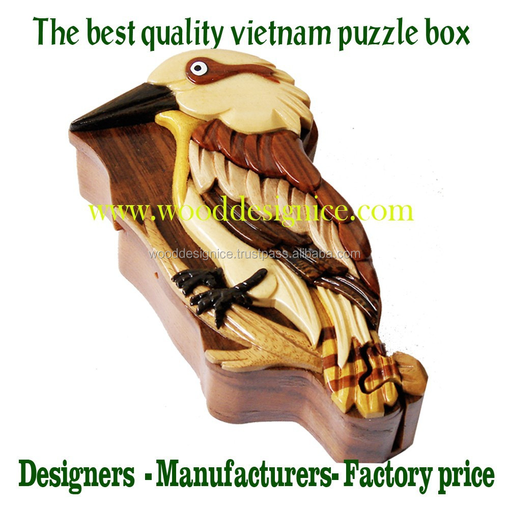 JEWELRY PUZZLE BOXES WOOD - VIETNAM FACTORY PRICE