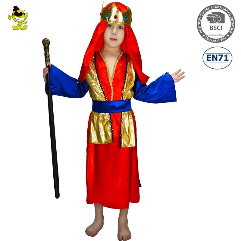 Deluxe Arabischen Prinzen Kostüme Nahen Osten Königlichen König ...