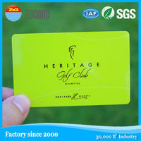 OEM good quality RFID printed rewritable magnetic smart reward card with logo