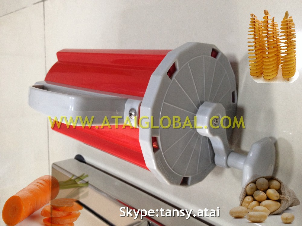 Hot Sell Home Use Manual Twist Potato Cutting Machine For Tornado Potatoes