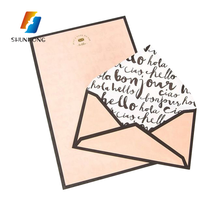 2018 New design padded colorful fancy paper envelopes for wholesale