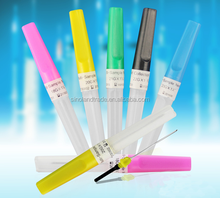 Pen type vacuum blood collection tube needle