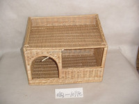 cheap dog house,wicker handmade house for dog