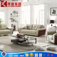 top quality used leather sectional sofa for home furniture