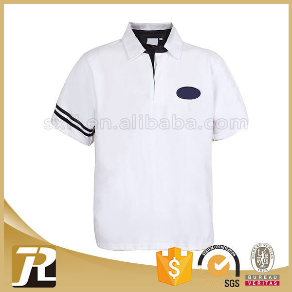 Hot sale latest design cheap good serve polo tshirt